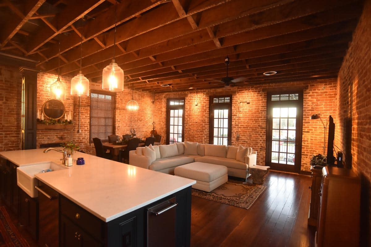 If Walls Could Talk — Loft Living — DeSoto Magazine. Feature Story by Mary Ann DeSantis