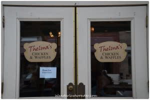 Thelmas SignDSC 9557 2012 06 03 at 10 17 52 300x200 Eating our Way Around Roanoke, Virginia