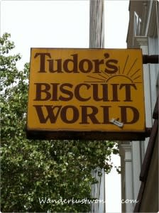 Tudors Biscuit World Sign 224x300 Eating our Way Around Roanoke, Virginia