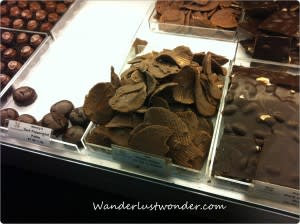 chocolate potato chips at chocolate paper 300x224 Eating our Way Around Roanoke, Virginia