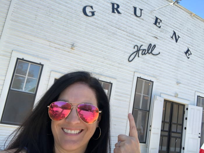 Gruene Hall in New Braunfels, Texas