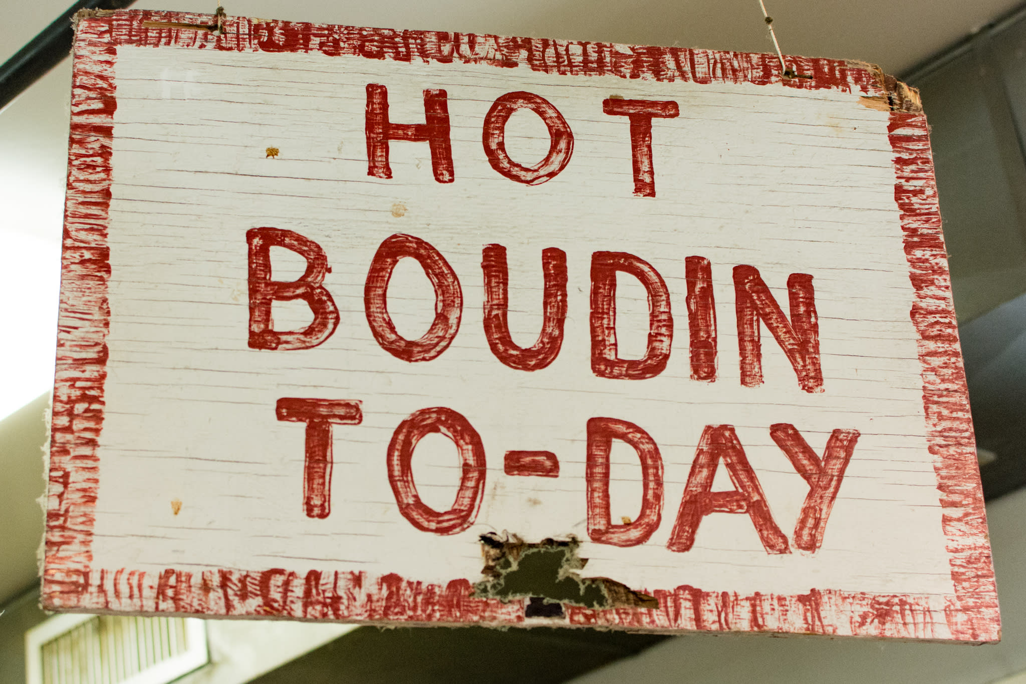 Johnson's Boucaniere Hot Boudin Saign