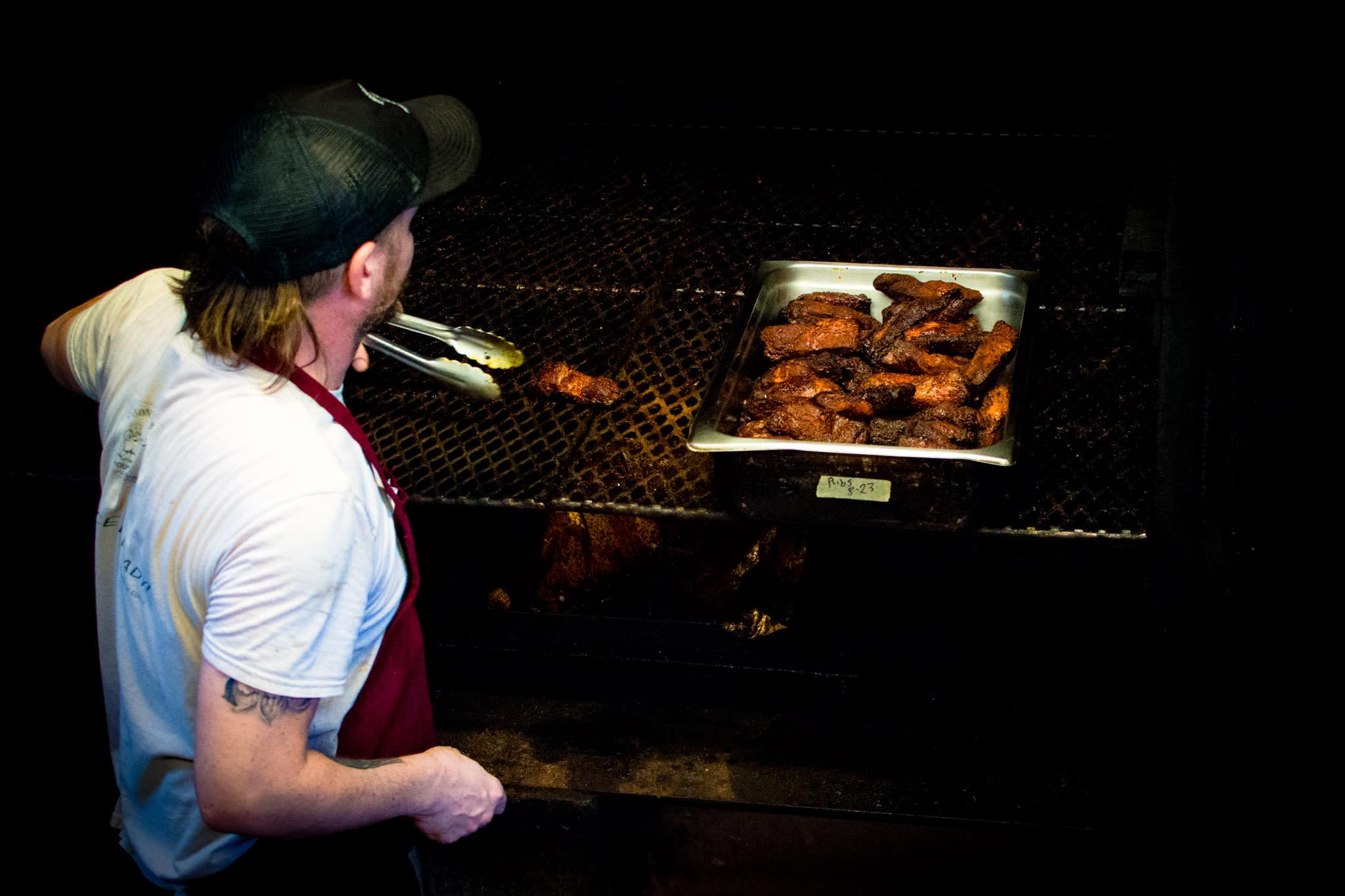 Johnson's Boucaniere Meat Smoking
