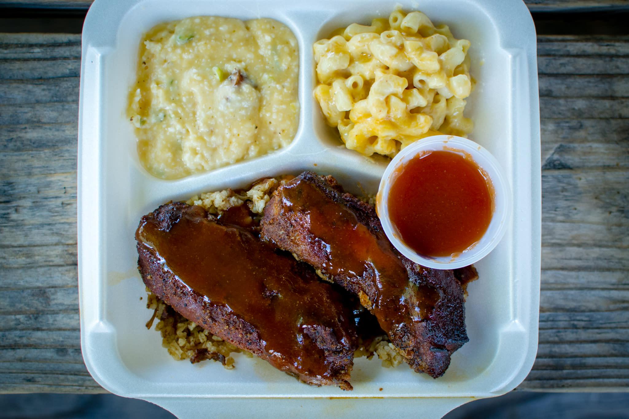 Johnson's Boucaniere Plate Lunch