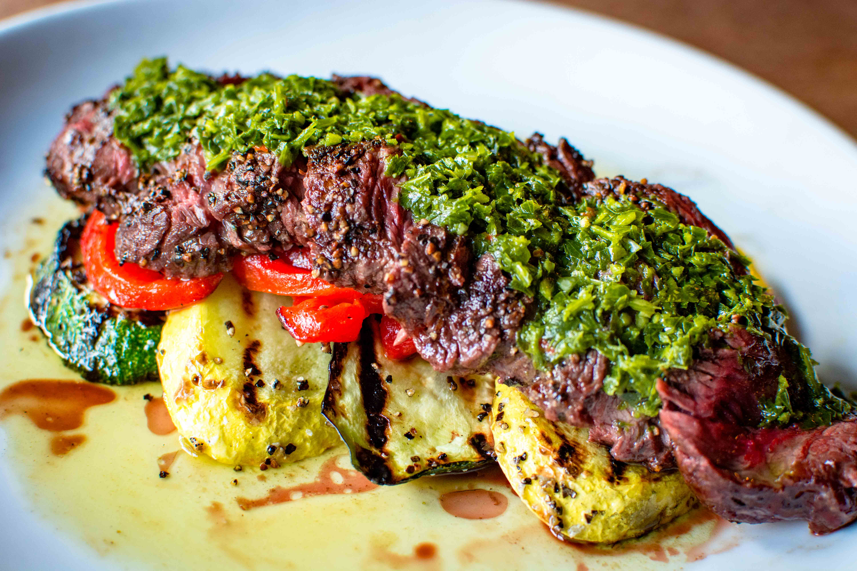 POUR Steak