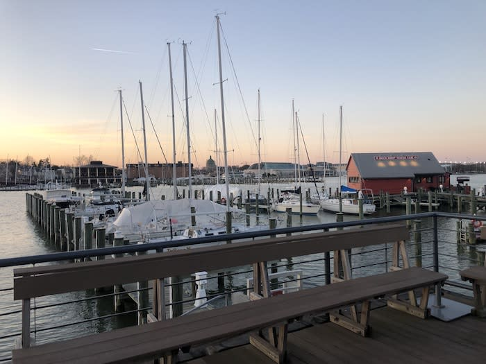 Outdoor Dining in Annapolis