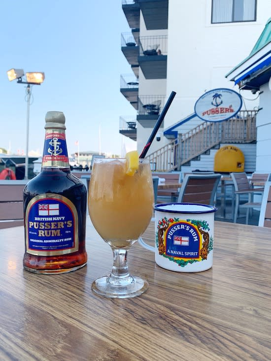 Pusser's Bar Painkiller