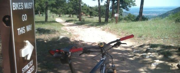 Betasso Preserve Biking Boulder