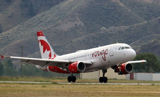 Air Canada Touchdown - Kamloops Matters
