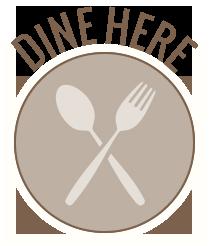 icon - dine here