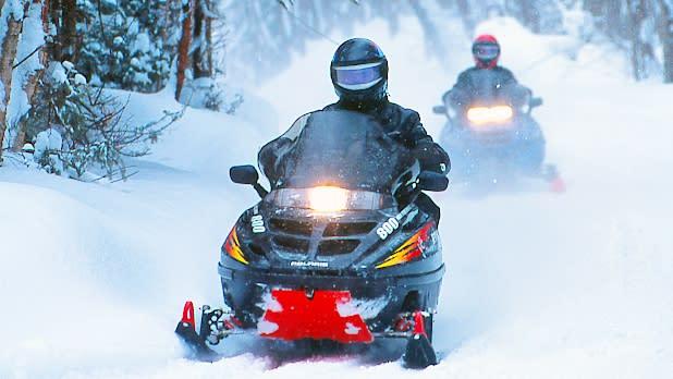 Snowmobiling Tug Hill Plateau