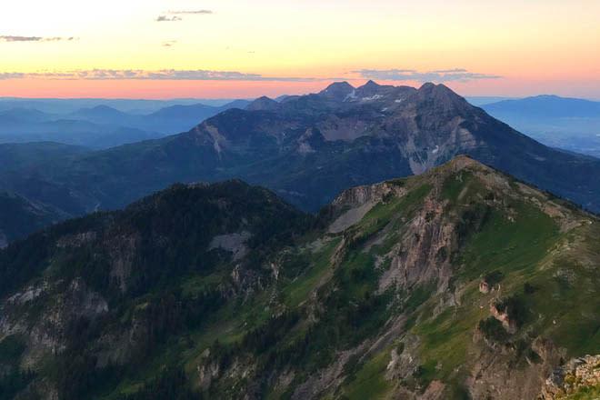 Challenging Hikes in Utah Valley - Box Elder Peak