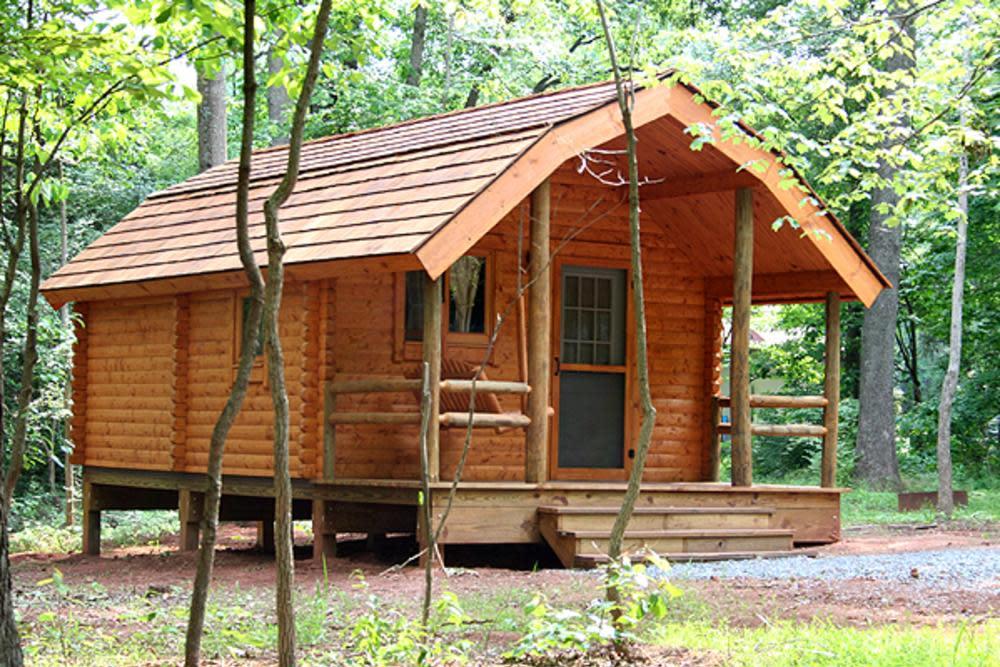 Bull Run cabin