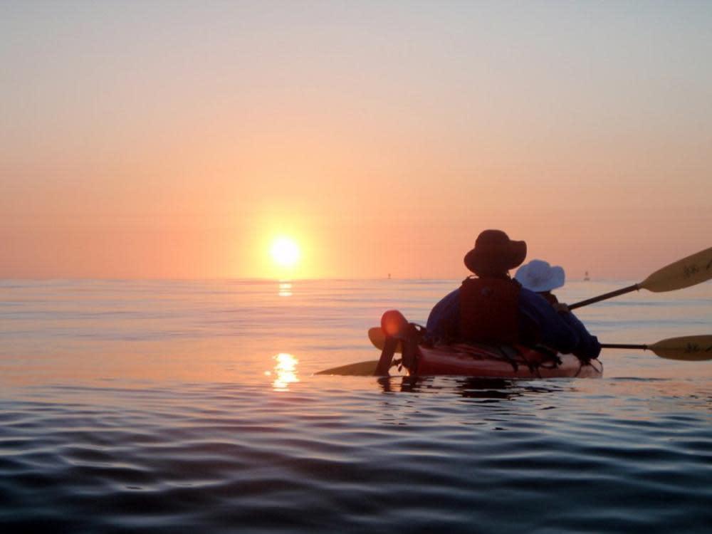 Morning Kayak - Parks