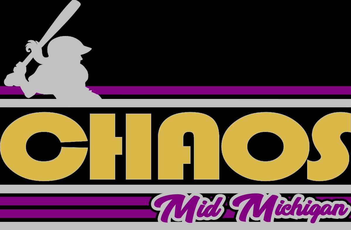Chaos Mid Michigan Softball Logo