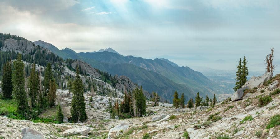 Lake Hardy Views in Utah Valley