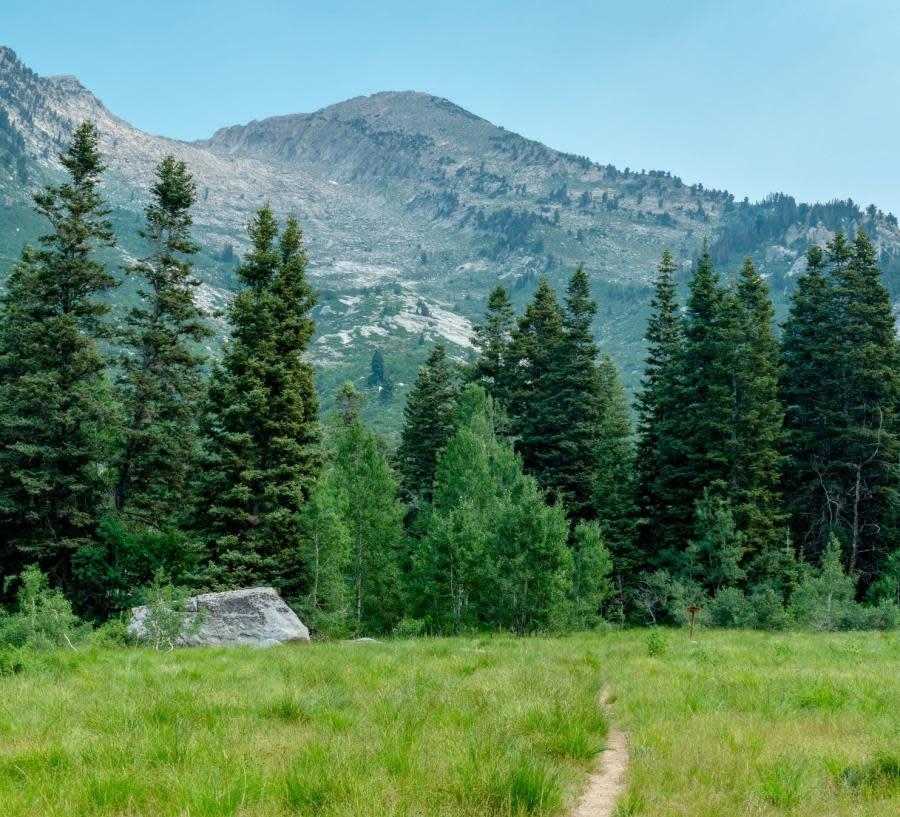 Lake Hardy Trailhead in Utah Valley