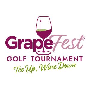 GrapeFest Golf Tournament Logo