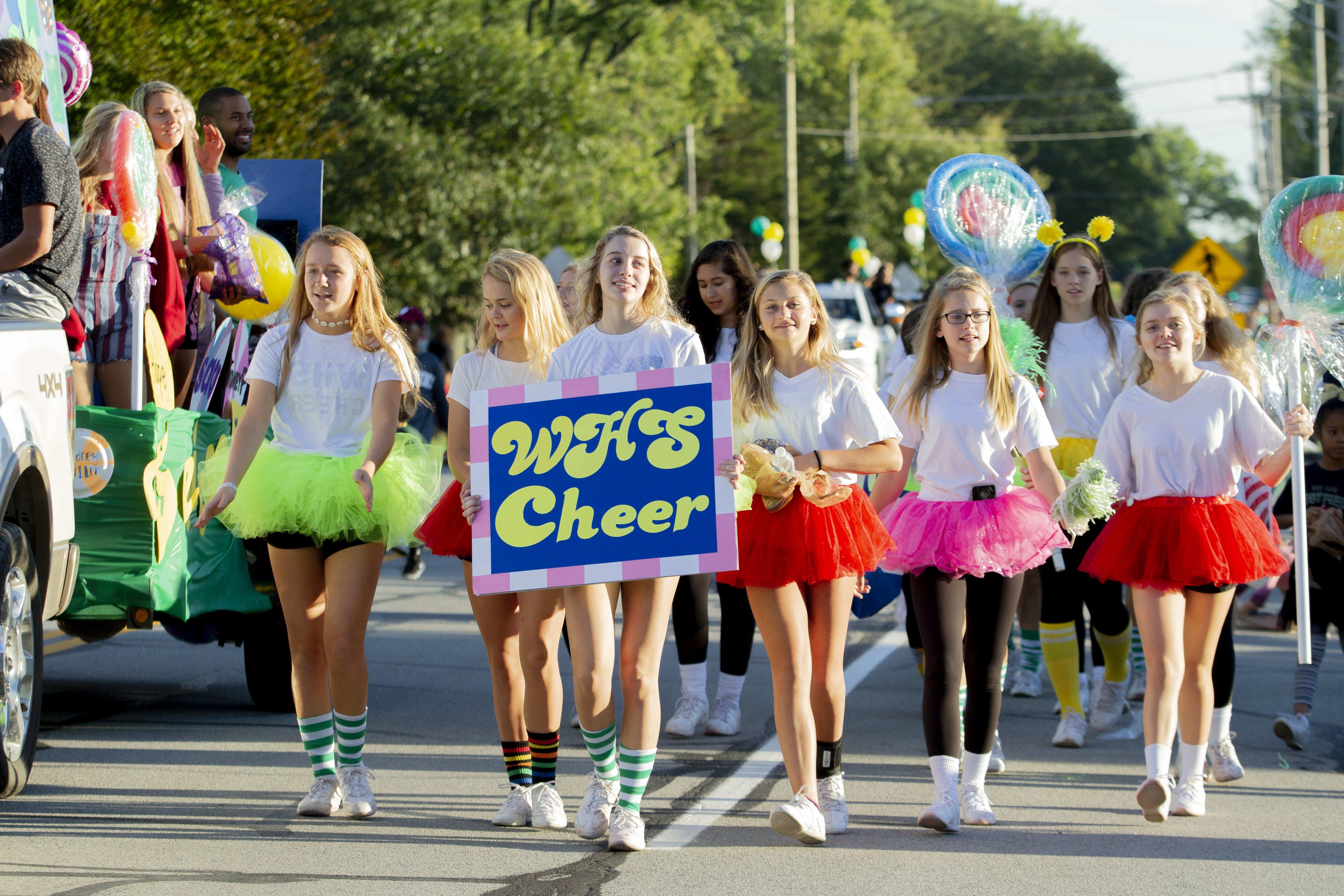Westfield High School - parade