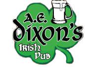 A. E. Dixon's Irish Pub Logo