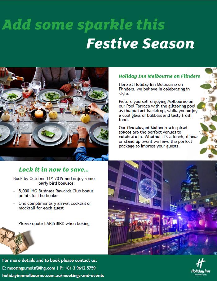 Holiday Inn on Flinders Christmas offer