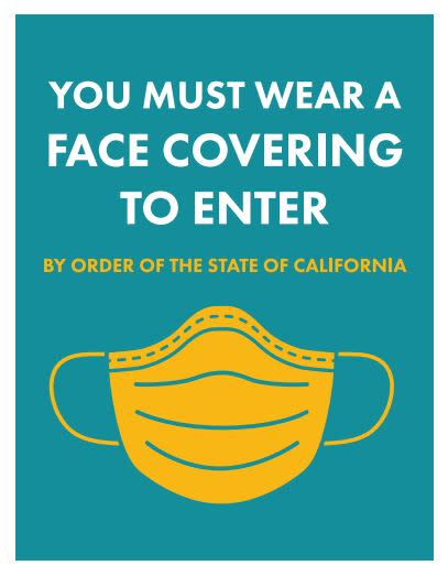 Wear Face Covering Flyer