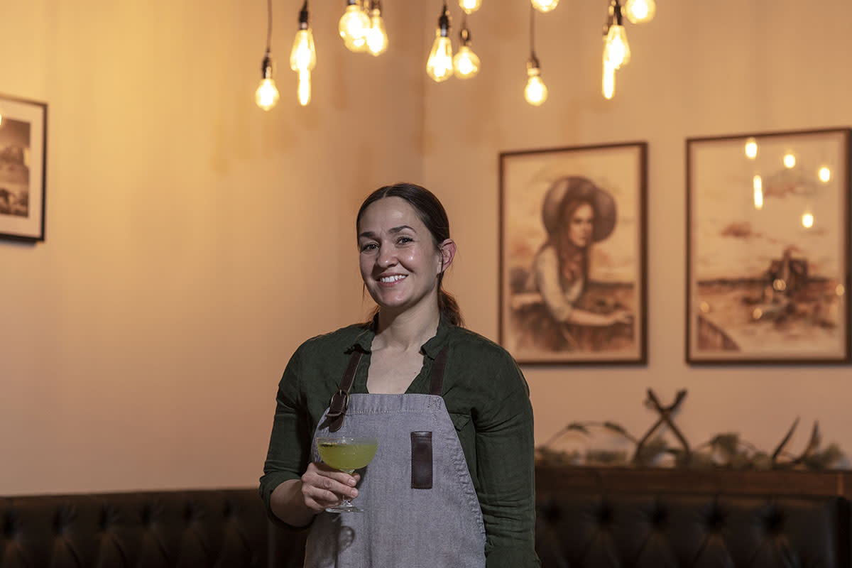 Chef Tamara Stanger of Cotton and Copper