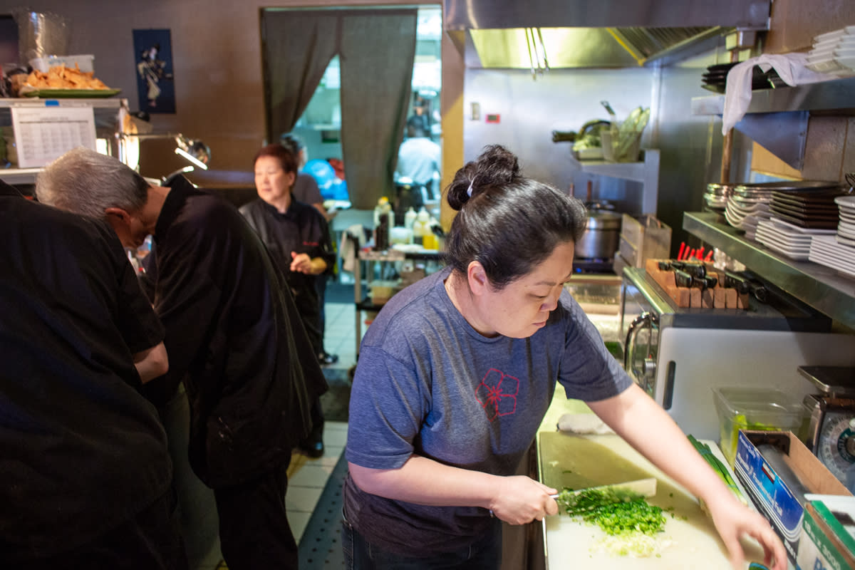 Lori Hashimoto of Hana Japanese Eatery