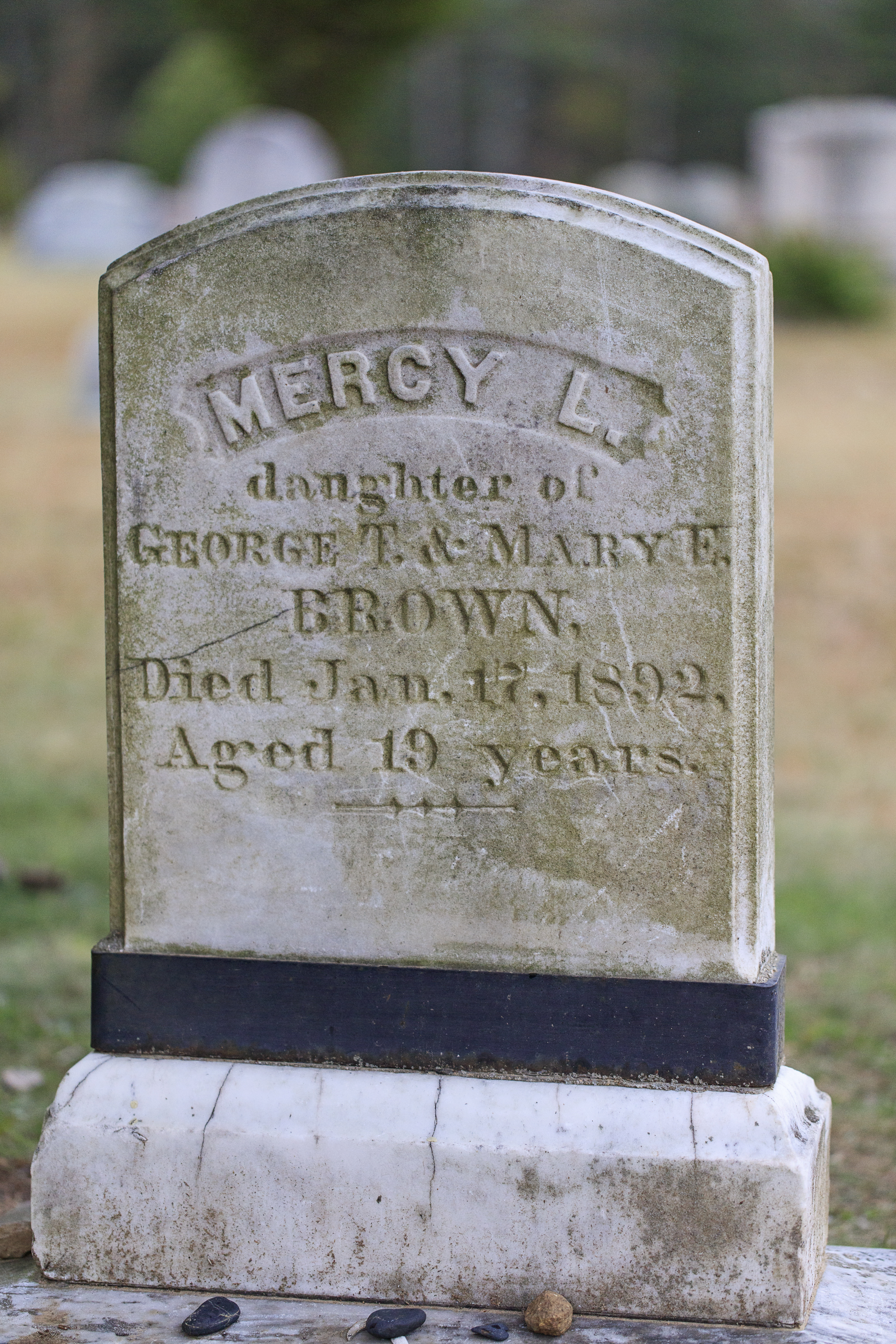 Mercy Brown's Grave
