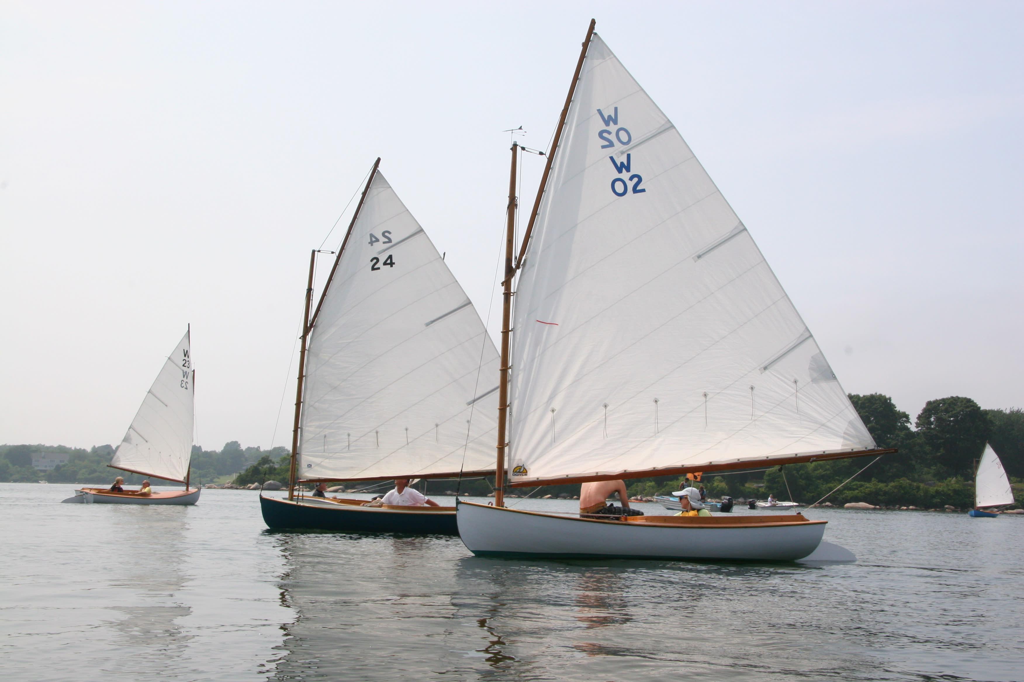 Sailboats Weekapaug Inn