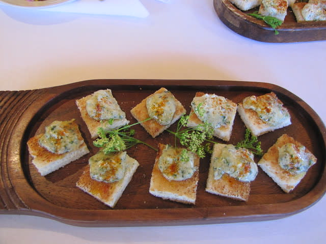 Texas Toast with Fois Gras at Rio Grill