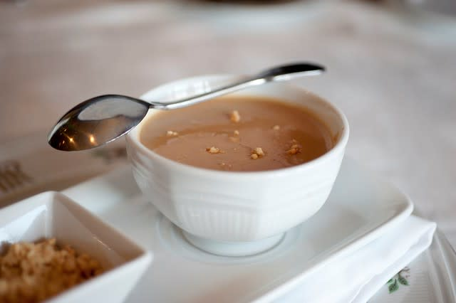 Peanut Soup - The Regency Room at The Hotel Roanoke & Conference Center