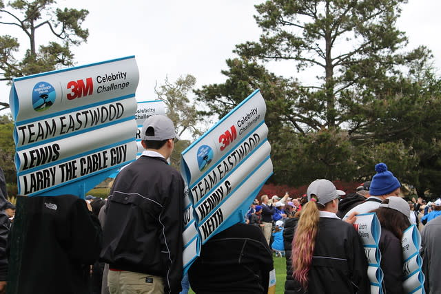 3M Celebrity Challenge during the AT&T Pebble Beach Pro-Am