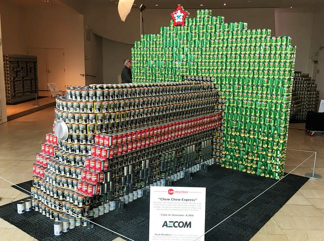 611-Canstruction
