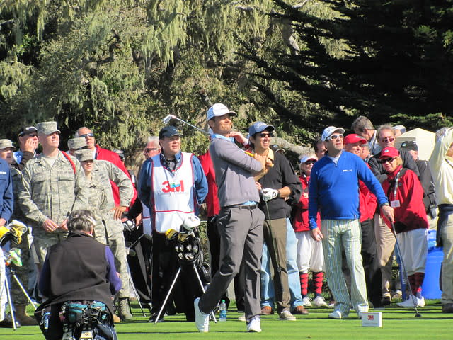 Josh Duhamel at the 3M Celebrity Challenge during the AT&T Pebble Beach National Pro-Am