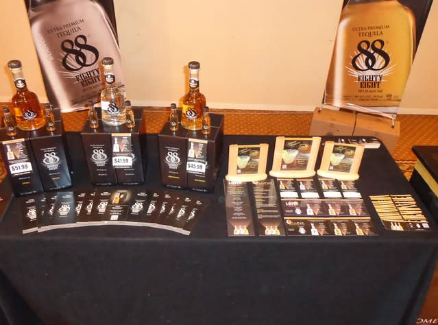 88 Tequila at Monterey Tequila & Mezcal Expo in CA