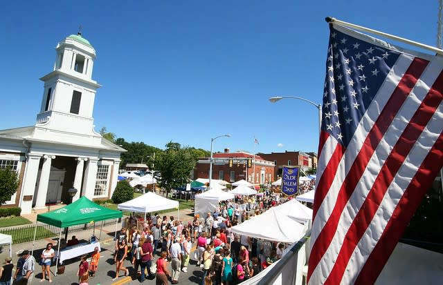 Olde-Salem-Days Festival in Roanoke
