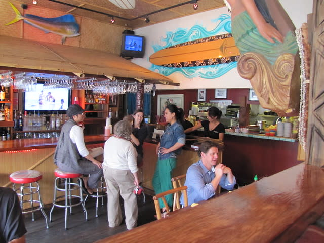 Bar Area at Hula's Island Grill & Tiki Bar