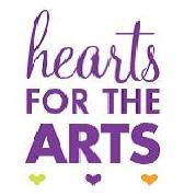 Hearts for the Arts logo