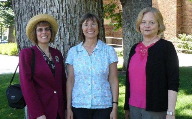 Pictured from left to right: Cynthia Gibbs, Janet Lewis, Carol Dabrowiak