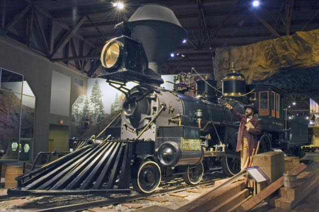 The California State Railroad Museum is the largest of its kind in North America.