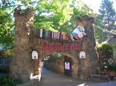 Fairy Tale town is a favorite Sacramento attraction among children.