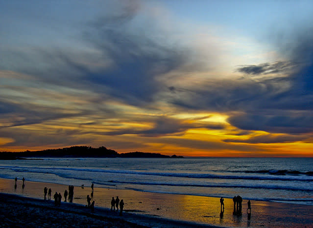 Carmel Beach Sunset - img3436