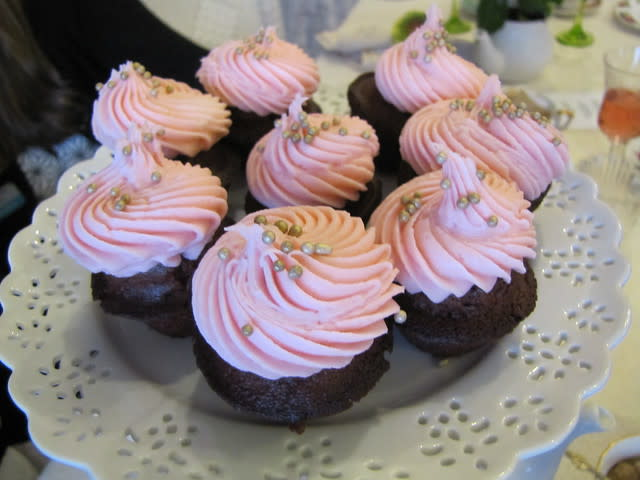 Miniature Cupcakes at Eddison & Melrose Tea Room