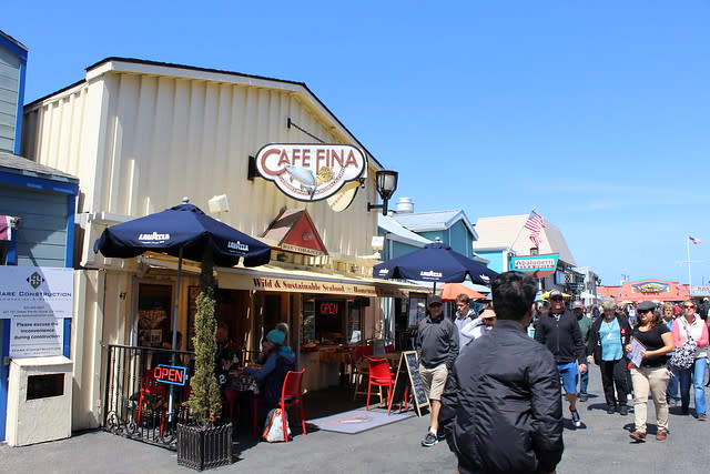 Cafe Fina on Old Fisherman's Wharf