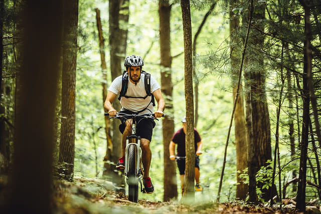Explore Park Mountain Biking