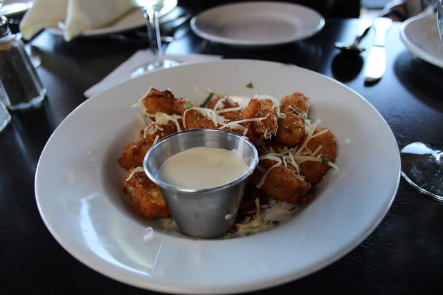 Fried Artichokes at The Crab House