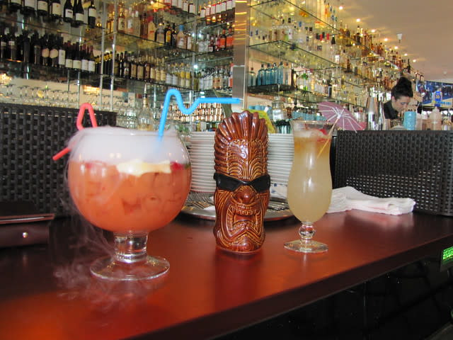 Craft Cocktails at Lalla Oceanside Grill