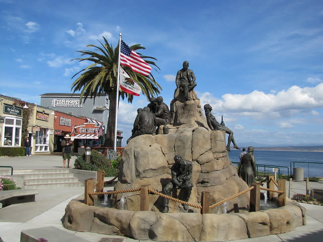 Cannery Row Monument