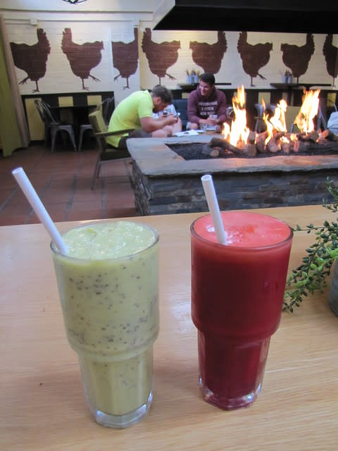Fresh Juices at Carmel Belle